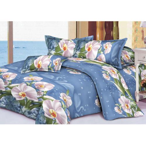 Качественное постельное белье ТЕП  RestLine 124  «Snowy Swan» 3D дешево от производителя.