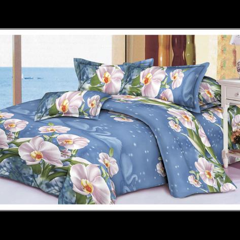 Качественное постельное белье ТЕП  RestLine 124  «Snowy Swan» 3D дешево от производителя., фото 2