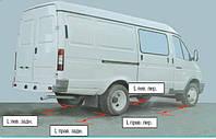 Проверка и регулировка углов установки передних колес.