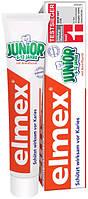 Elmex Junior детская зубная паста от 6 до 12 лет 75 мл