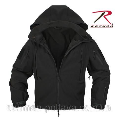 Куртка тактична ОРС (SOFT SHELL ) колір чорний США