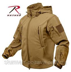 Куртка тактична ОРС (SOFT SHELL ) колір кайот США