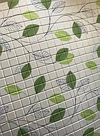 Панели листовые декоративные ПВХ в Харькове для стен и фартуха кухни 485*960 мм Листья