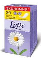 Lidie ежедневные прокладки Normal Deo 50шт