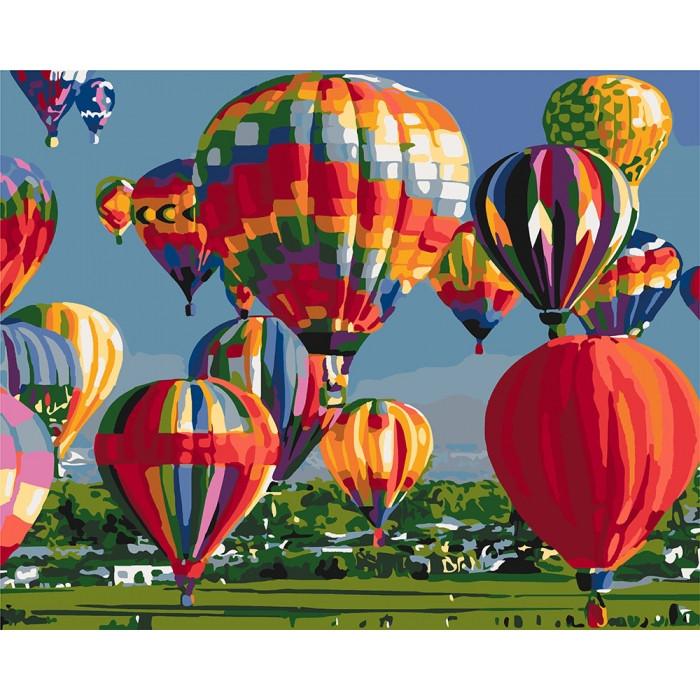 Картина по номерам Идейка -  Покоряя небо 40x50 см (КНО2265)