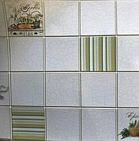 Декоративні облицювальні листові панелі ПВХ 485*960 мм Розмарин