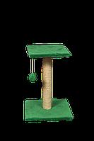 Когтеточка Мур-Мяу Тройка 54 см Зеленая (hub_kVSk15649)