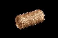 Игрушка для кошек Мур-Мяу Цилиндр-1 в джутовой веревке Бежевая (hub_QXhr13911)