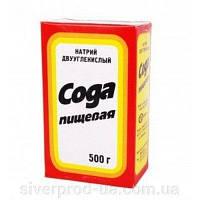 Сода пищевая  500 г (1 шт.)