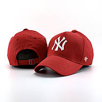 Мужская кепка, бейсболка New York (Нью Йорк), красная