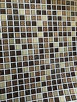 Листовые декоративные панели ПВХ мозаика 485*960 мм Бруно