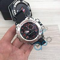 Мужские Часы Касио джи-шок Casio GLG-1000 All Black \ Черный\ спортивные \ ремешок \ чоловічий годинник