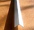 Угол алюминиевый 30х30х1,5 равнополочный равносторонний Белоснежный (краш), фото 2