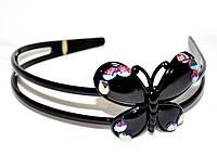 Обруч для волос - бабочка (12 шт)