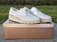 Женские перфорированые туфли Semler оригинал Германия натуральная кожа 38,5, фото 1