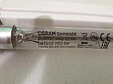 Бактерицидная лампа кварцевая (без озона) Osram PURITEC HNS 6w T5 + светильник, фото 6