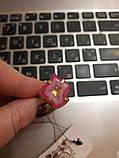 Красивое кольцо жеода агата в позолоте. Кольцо с жеодой агата 18 размер Индия!, фото 4