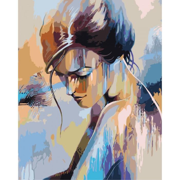 Картина по номерам Идейка -  Абсолютная нежность 40x50 см (КНО2674)
