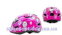 Детский защитный шлем Котики с регулировкой размера