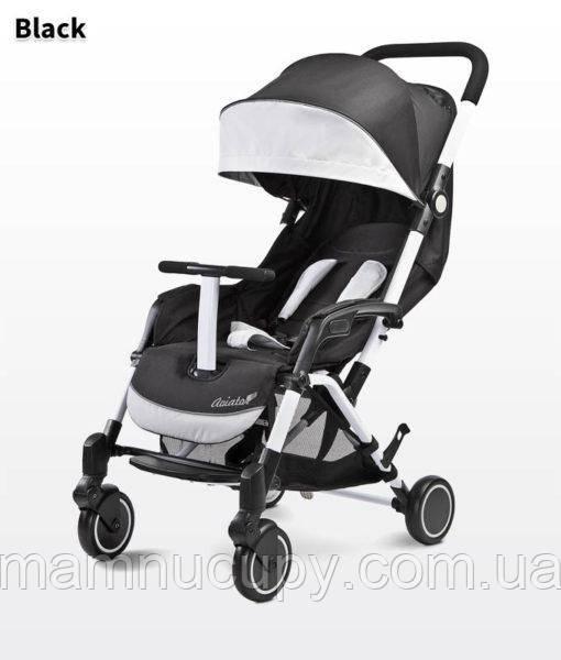 Детская прогулочная коляска Caretero Aviator Black (Каретеро Авиатор)
