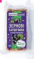 Зерновые батончики Амрита с черной смородиной 45 г 6 штук