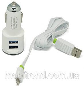 Автомобильное зарядное устройство Apple (2.1A) Белый