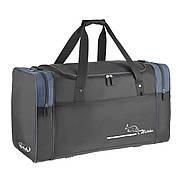 Дорожная сумка Wallaby чёрно-синяя 63х36х27 ткань нейлон 420Д  на ПВХ основе  в 430ч син