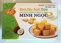 Натуральная халва из бобов Маша с кокосом Minh Ngoc Coconut 300 грамм (Вьетнам), фото 1