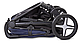 Детская прогулочная коляска Caretero Titan Black (Каретеро Титан), фото 4