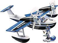 Игровой набор полицейский гидросамолёт Playmobil Action Floating Police Seaplane