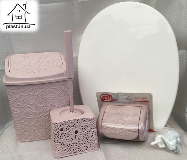 набір для ванної кімнати з п'яти предметів