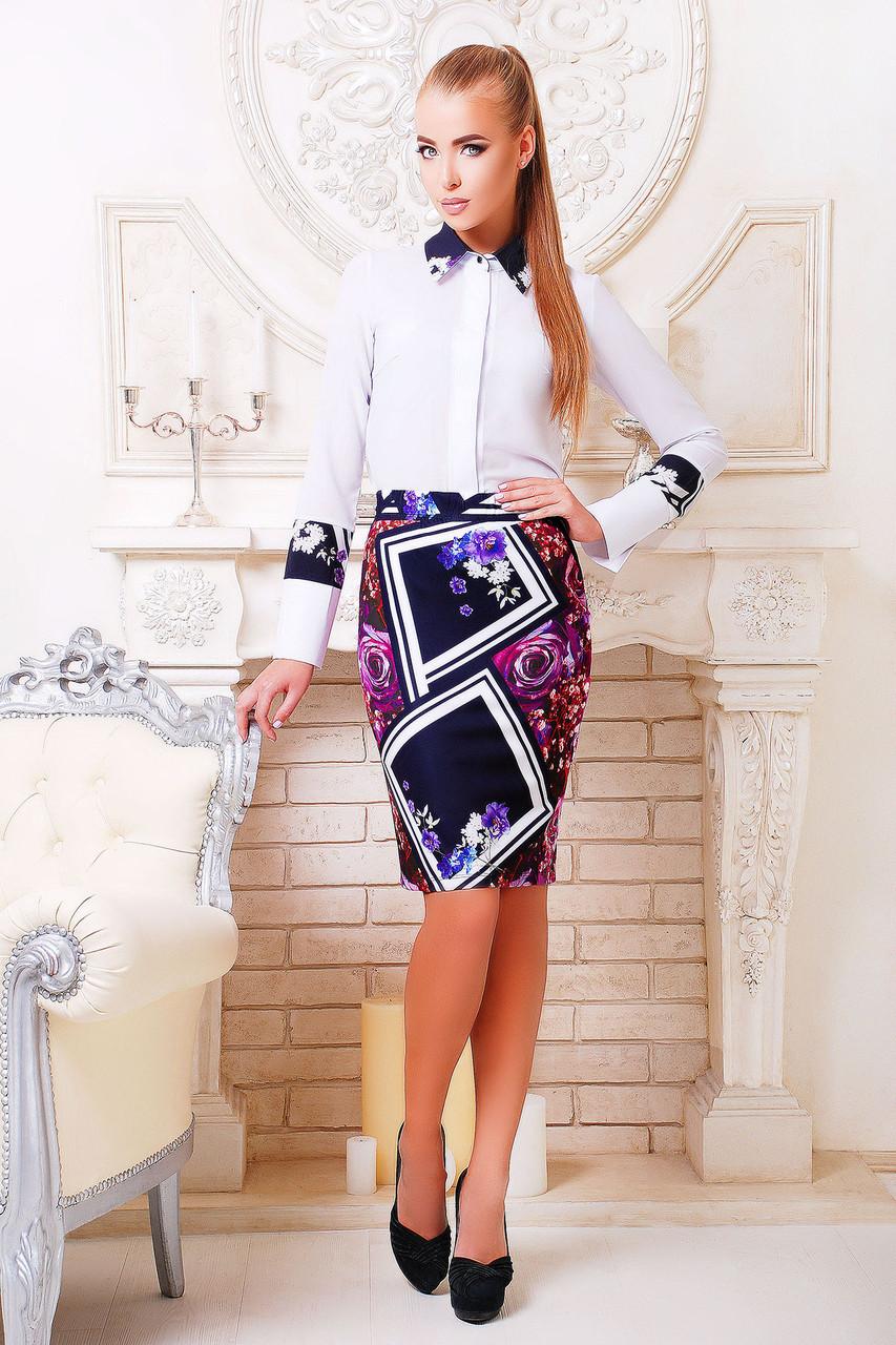 Блуза женская с длинным рукавом Орланда