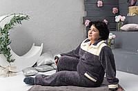 Женский домашний костюм, серый