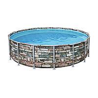 Каркасный бассейн Bestway Loft 56966 (488х122) с картриджным фильтром