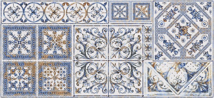 Декор InterСerama  Viva  сірий  23x50 Д 145 071-3