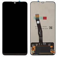 Дисплей (модуль) для Huawei Honor 10 Lite (HRY-LX1), Honor 10i (HRY-LX1T) Черный Оригинал
