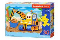 "Пазлы 30 элементов ""Желтый землекоп"", B-03464 | Castorland"