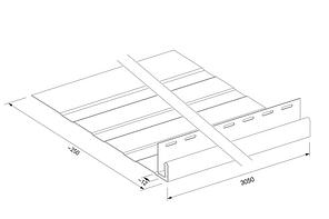 Планка фаска System Max-3