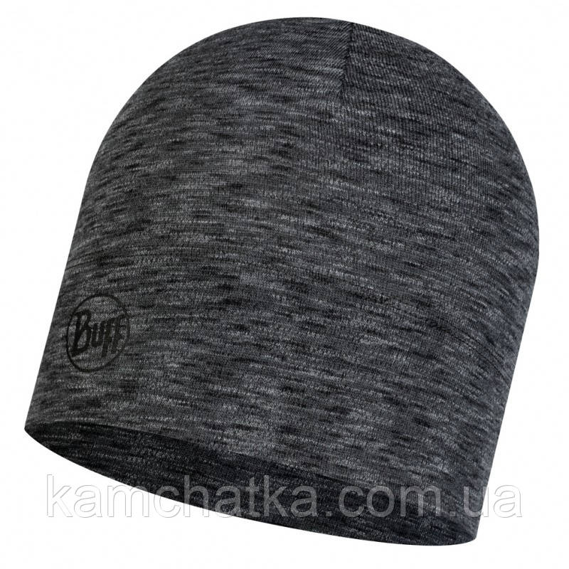 Шапка Buff Midweight Merino Wool Hat Multi Stripes Graphite