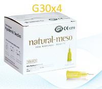 Иглы для мезотерапии Natural-Meso G30x4