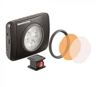 LED светильник Manfrotto Lumimuse с 3 светодиодами и аксесс., черный