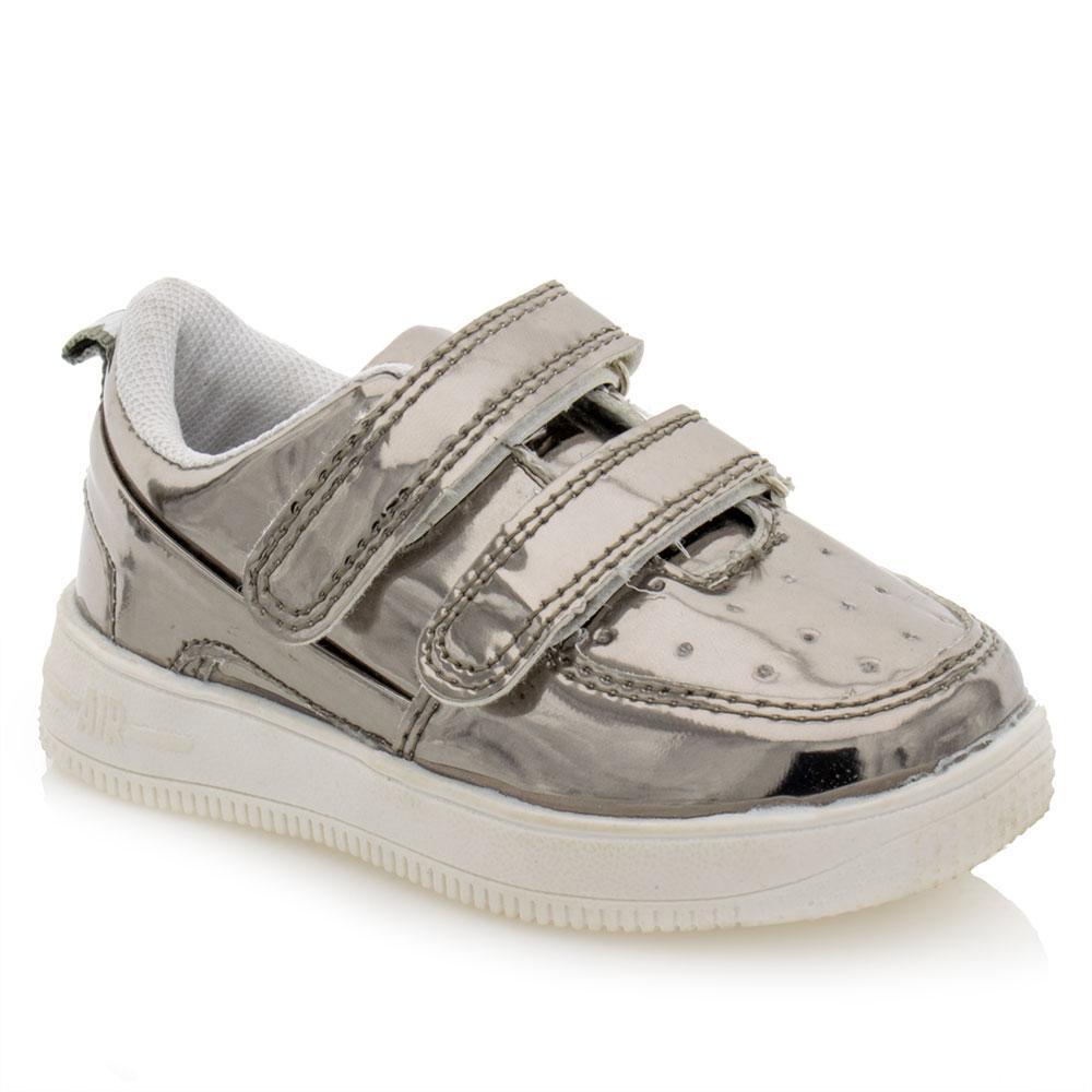 Туфли для девочек Jong Golf 21  серые A-9850-2