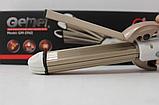Утюжок выпрямитель плойка для укладки волос гофре 4 в 1 Gemei, фото 2