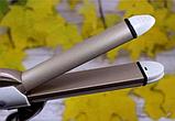 Утюжок выпрямитель плойка для укладки волос гофре 4 в 1 Gemei, фото 3