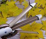 Утюжок выпрямитель плойка для укладки волос гофре 4 в 1 Gemei, фото 5