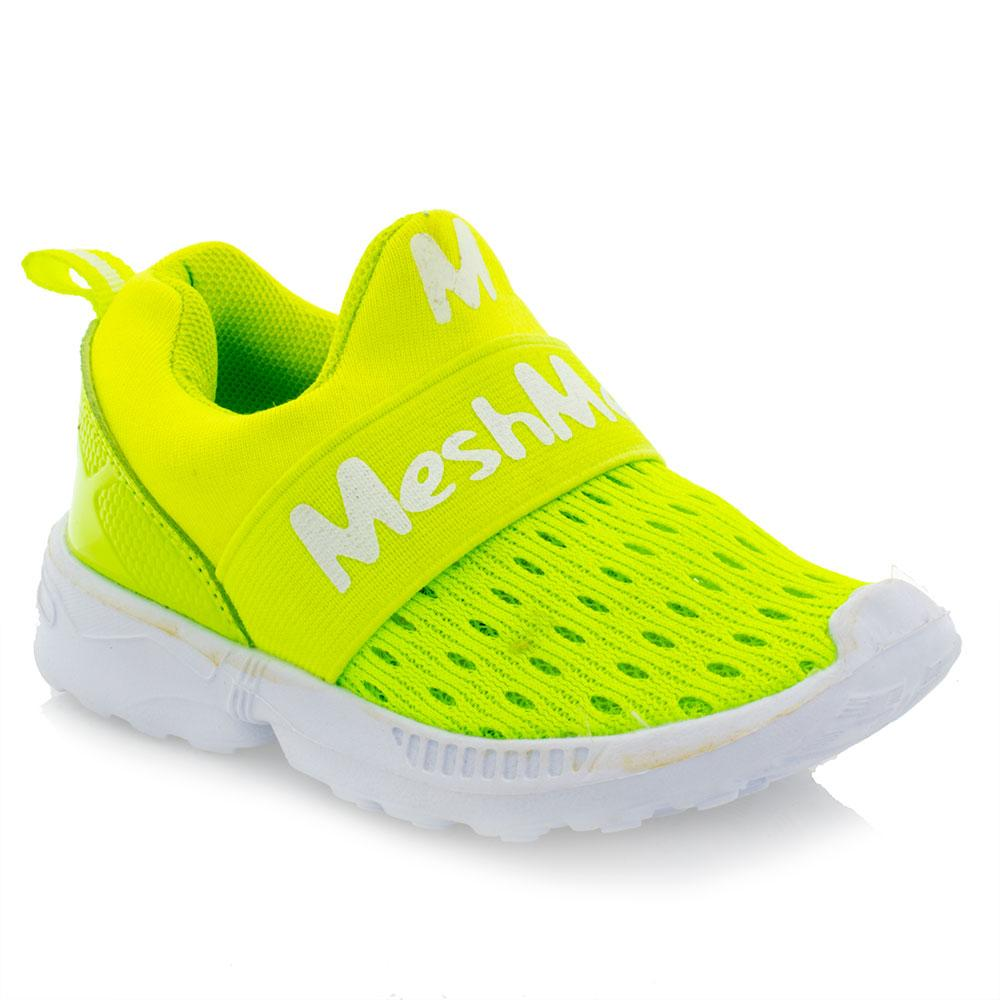 Кроссовки для девочек Jong Golf 22  желтые A-5106-5