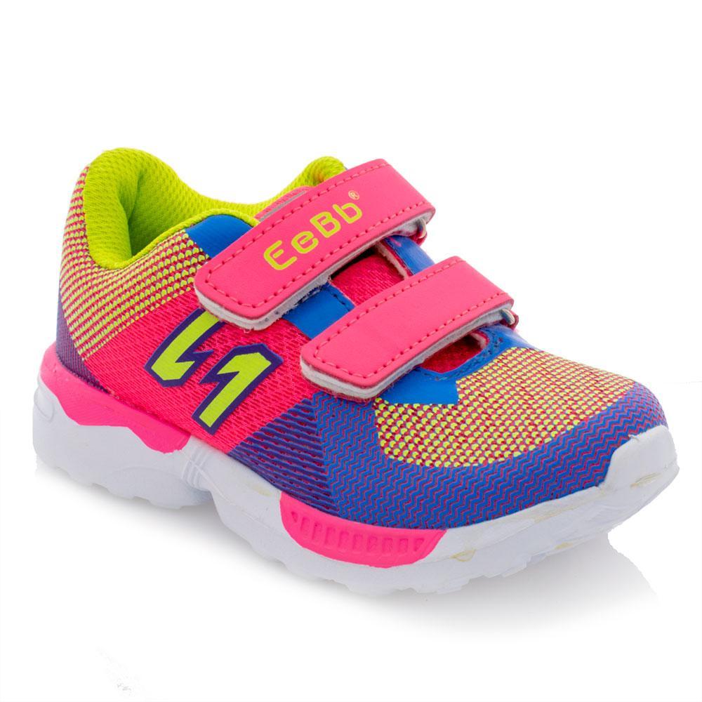 Кроссовки для девочек EeBb 26  розовые B79
