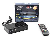 Тюнер DVB-T2 0968 с поддержкой wi-fi адаптера, фото 1