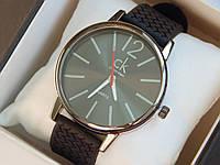 Мужские (Женские) кварцевые наручные часы Calvin Klein на каучуковом ремешке, фото 1