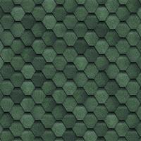 """Битумная черепица """"Shinglas"""" Финская соната (зелёный)"""